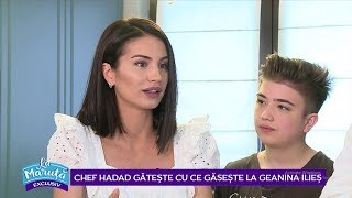 Chef Hadad in bucataria Geaninei Ilies