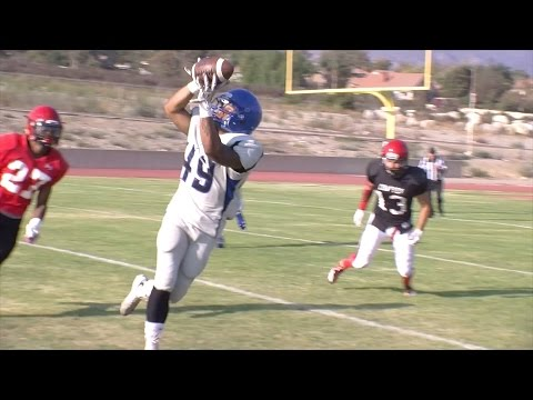 City of San Bernardino Sports Weekly-FOOTBALL: Chaffey vs. San Bernardino Valley College Scrimmage