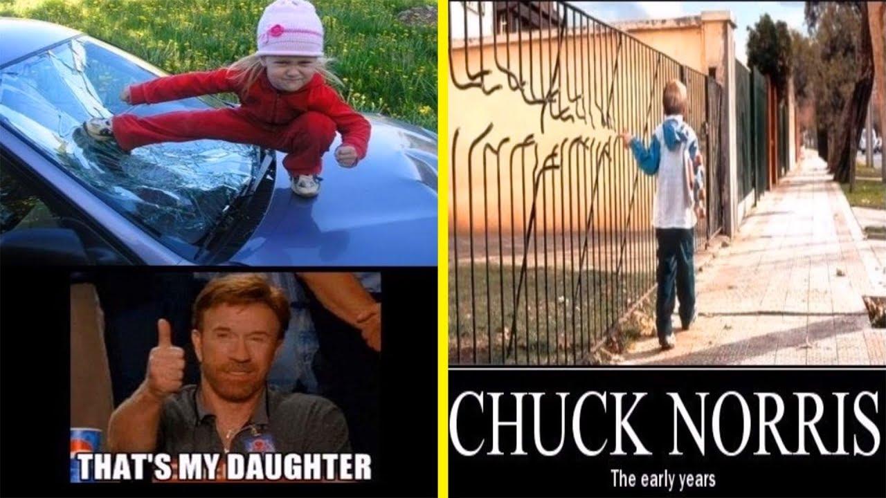 1000 chuck norris jokes are mistaken