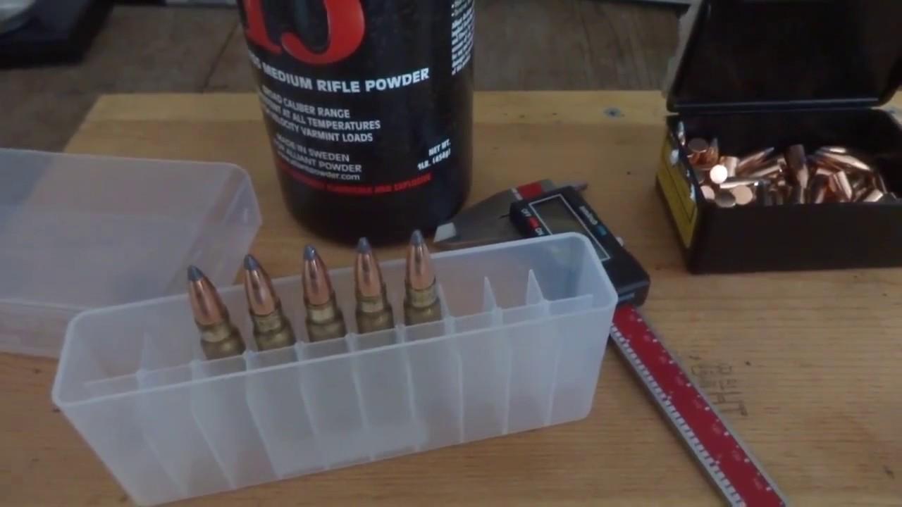 8mm Mauser hand load testing - Speer 150 grain with reloader 15