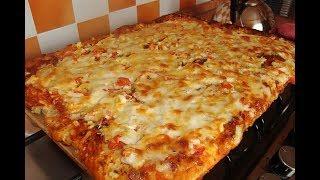 Простая и вкусная пицца за 100 рублей