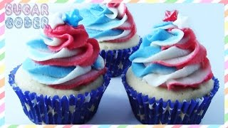 Fourth Of July Cupcakes, 4th Of July Cupcakes, Independence Day Cupcakes - By Sugarcoder