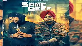 SAME BEEF | Sidhu Moosewala | Ft . Bohemia |Geet MP3 Full song 2018.mp3