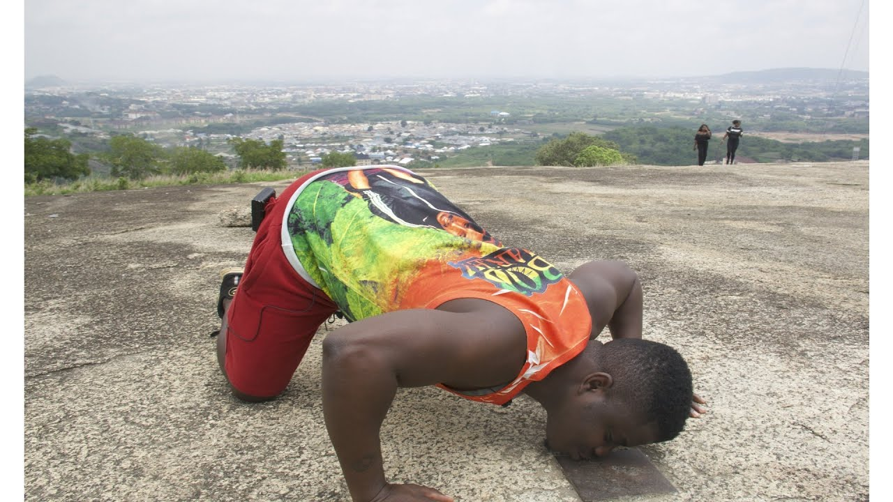 I Kissed The CenterPoint Of Nigeria
