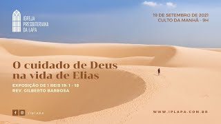 """O cuidado de Deus na vida de Elias"""