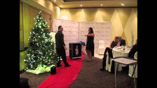 COGECO CORPORATE CHRISTMAS PARTY   TORONTO MAGICIAN DAN KRANSTZ