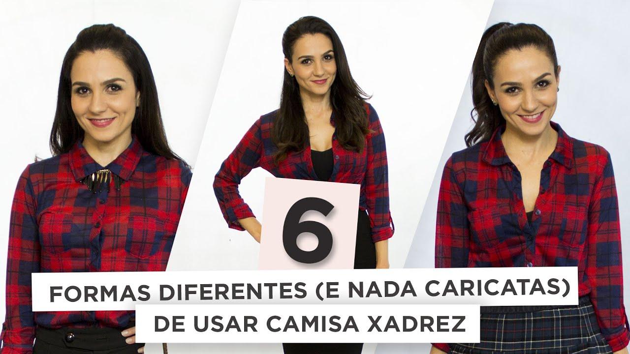d1f502f74 6 maneiras (nada caricatas!) de usar camisa xadrez   Anita Bem Criada