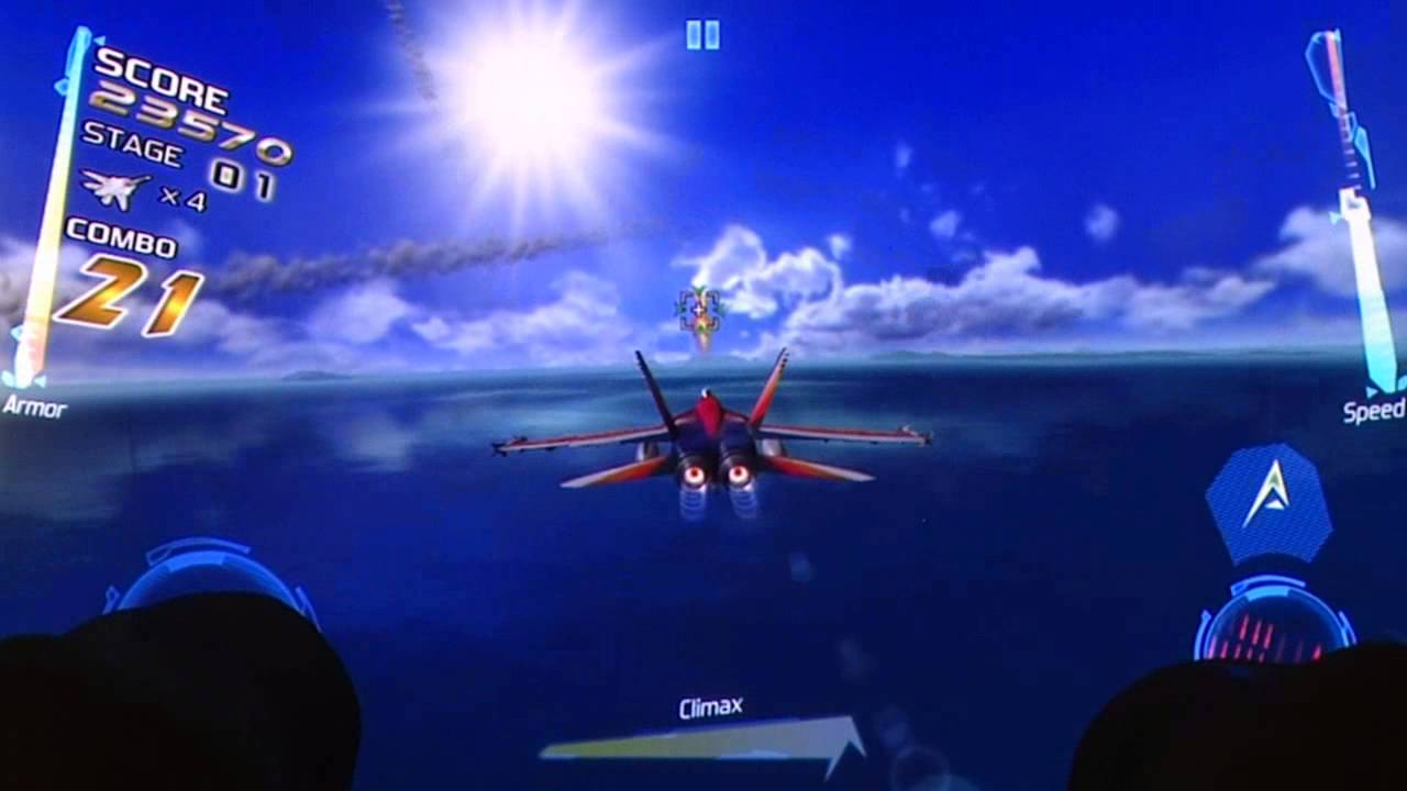 After Burner Climax iOS iPhone Gameplay Review - AppSpy com