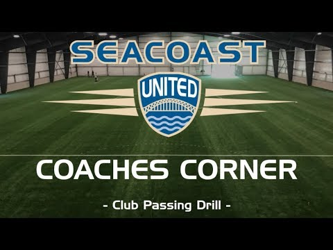 Seacoast United Soccer: Club Passing Drill