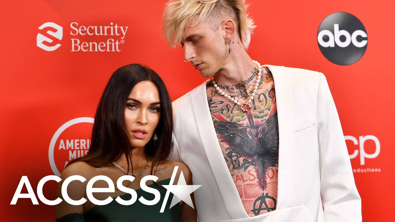 Megan Fox & Machine Gun Kelly's 1st Red Carpet At 2020 AMAs