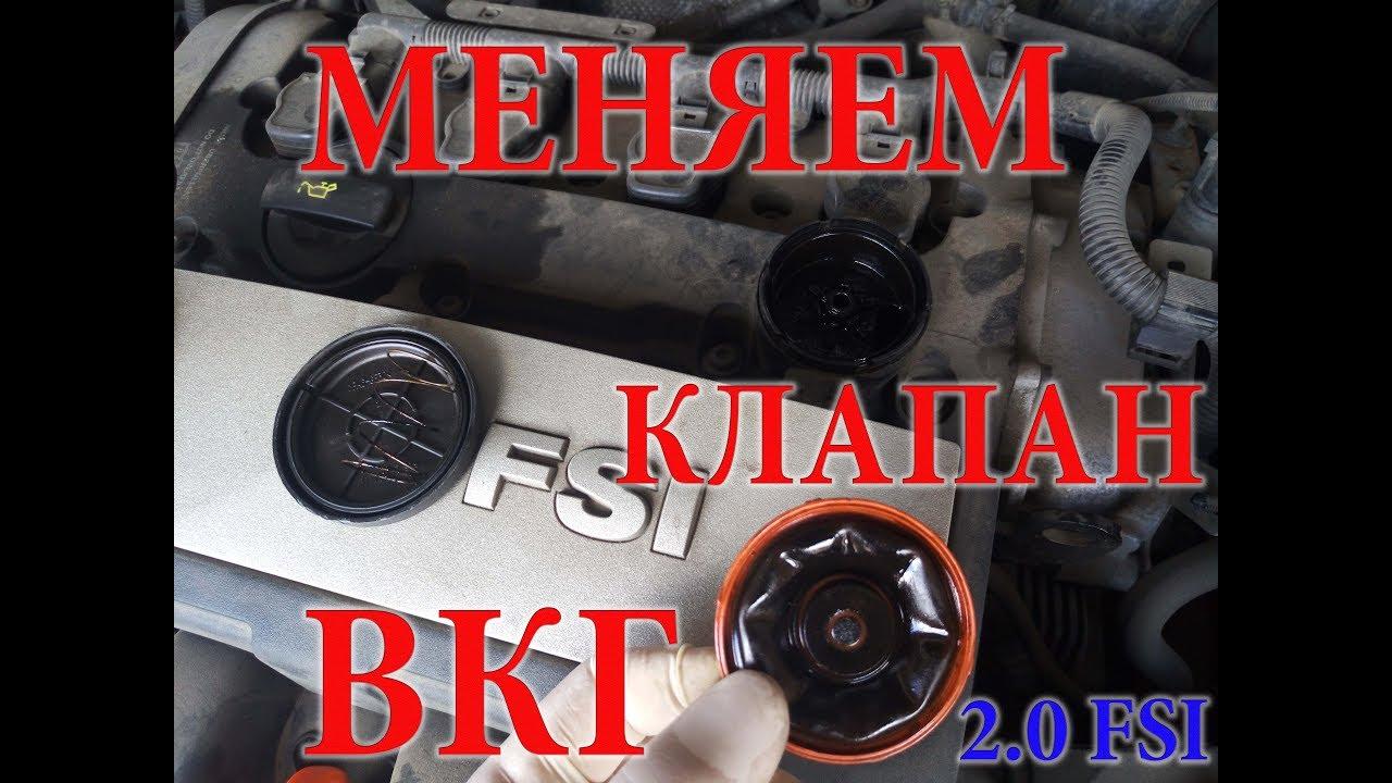 Замена КЛАПАНА (мембраны) ВКГ на двигателе 2.0 FSI (Passat B6) без услуг СТО. ПОЛНОЕ ВИДЕО