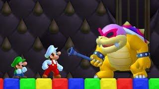Newer Super Mario Bros Wii Co-Op Walkthrough - Part 1 - Yoshi