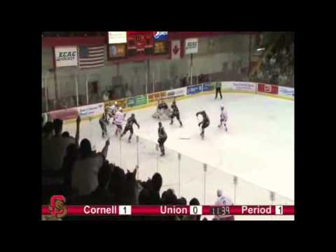 Greg Miller's Five-Point Senior Weekend against RPI and Union