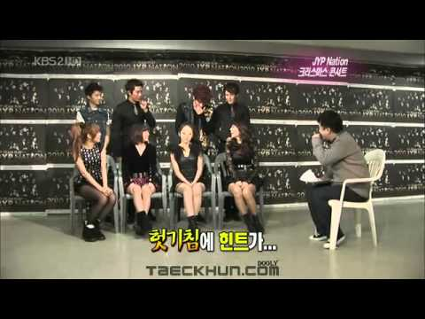 101225 Miss A + 2PM JYP Nation Concert and Interview
