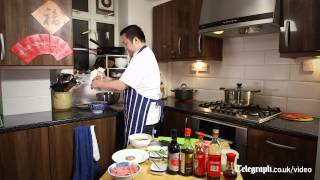 How to make Chinese New Year traditional food - dumpling 'Jiao Zi'