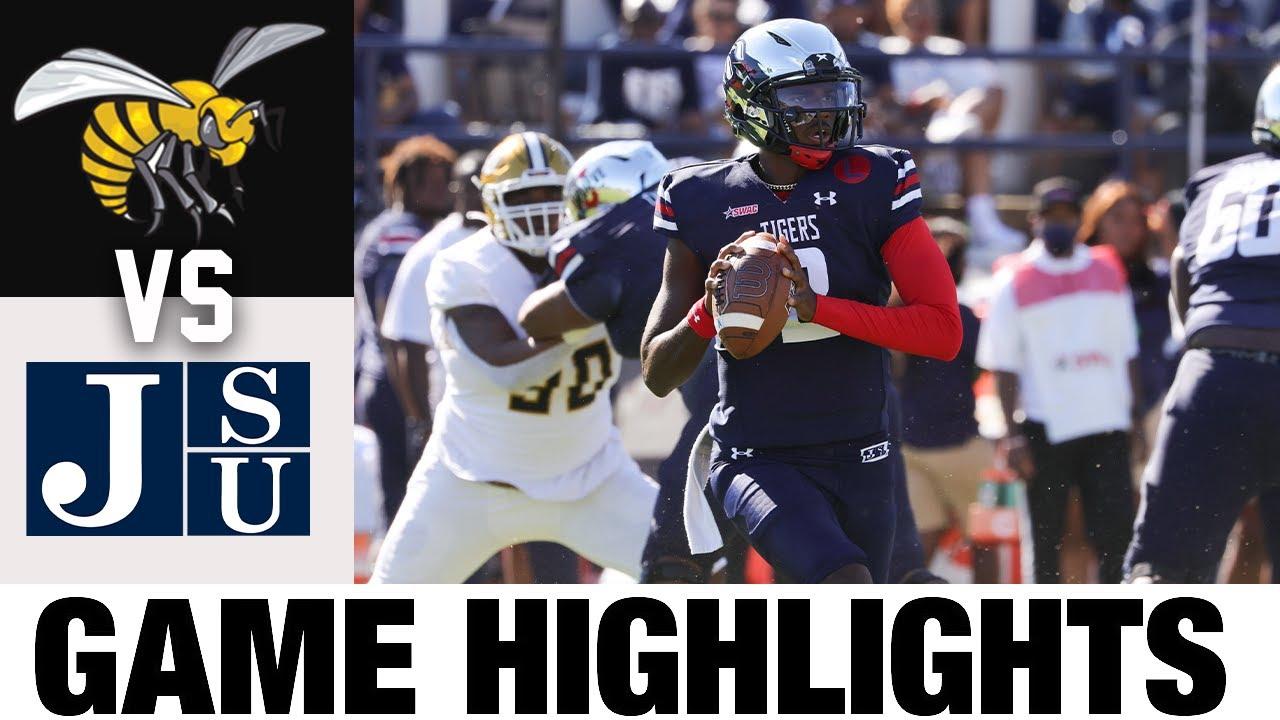 Alabama State vs #25 Jackson State   FCS  Week 7   2021 College Football