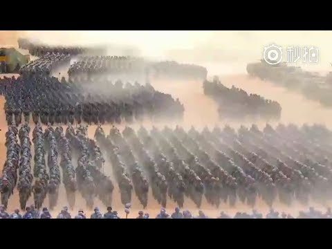 China Marks PLA 90th Anniversary Parade Scenes You've Never Seen