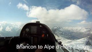 Superb Gliding in the France Alps - 2011