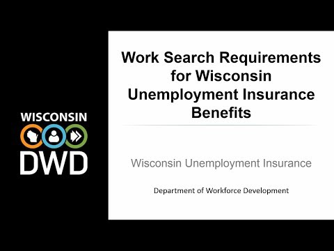 Work Search Requirements For Unemployment Benefits