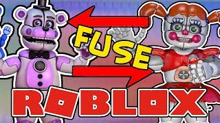FUNTIME FREDDY AND CIRCUS BABY FUSE Roblox Animatronic World