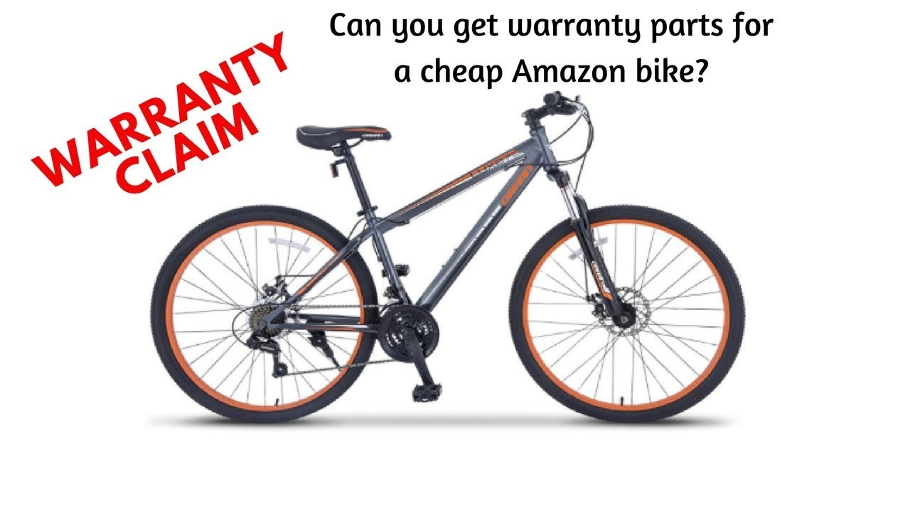 Orkan Warranty - Can you get parts for an Amazon bike? - YouTube