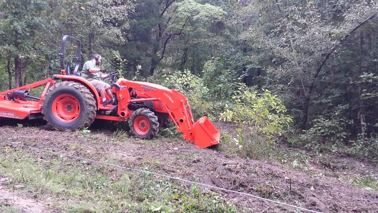 Rotary mower for tractor 56