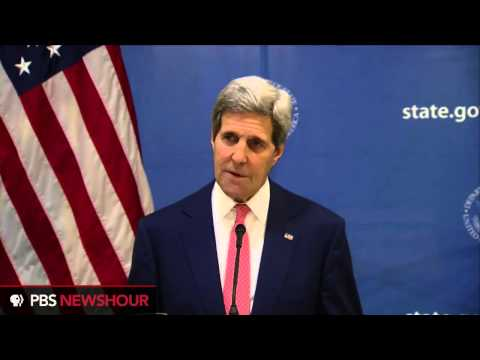 Watch Secretary Kerry announce 72-hour Gaza ceasefire