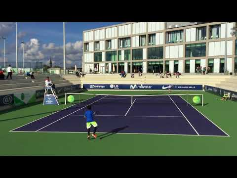 Fadi Bidan against James from Netherlands Rafa Nadal academy tournament  - PART 1