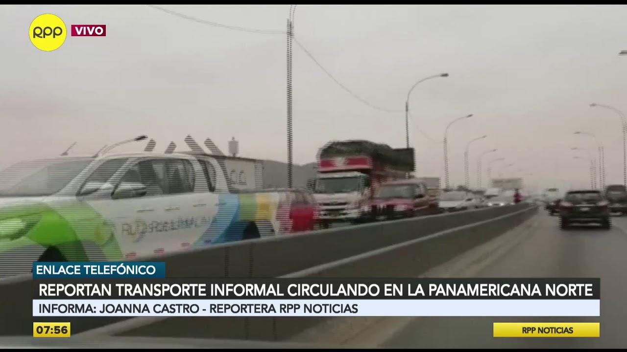 Colectivos informales circulan por la Panamericana Norte: cobran hasta 8 soles por viaje [VIDEO]