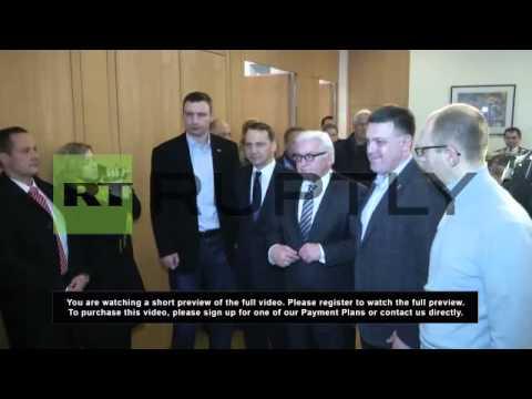 Ukraine: EU delegation meets Klitschko before Yanukovych