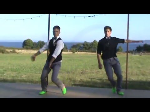 Groom and Brother Surprise wedding dance for Bride