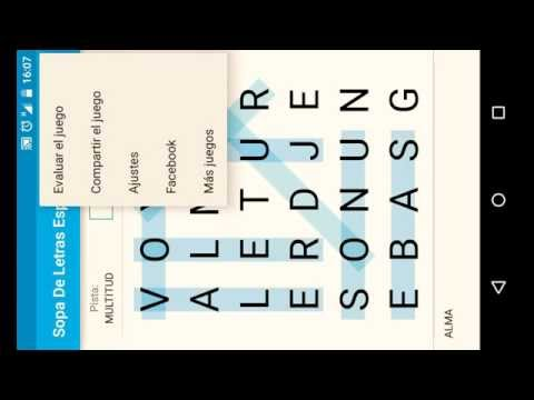 Sopa De Letras Espanol Gratis Aplicaciones En Google Play