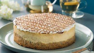 Cheesecake de Canela con Pastel de Nuez