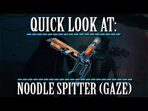 Warframe - Quick Look At: Noodle Spitter (Gaze Chamber) thumbnail