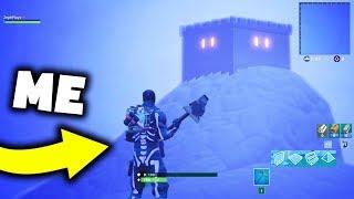 I Found What's INSIDE The ICEBERG Castle In Fortnite
