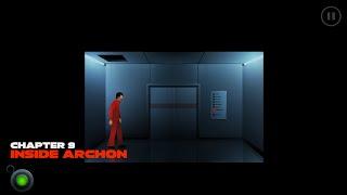The Silent Age Episode 2, Chapter 9, Inside Archon: Walkthrough