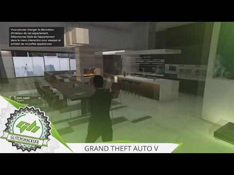 glitch | gta5 : modifier l'intérieur de son appartement sans payer