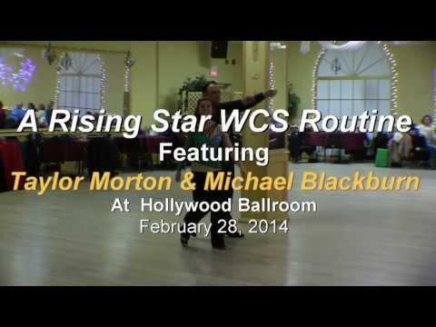Taylor Morton & Michael Blackburn Rising Star WCS Routine at HB 2/28/2014