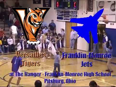 Versailles Tigers vs Franklin Monroe Jets   2003 Jet Holiday Tournament   BBB 12 27 2003