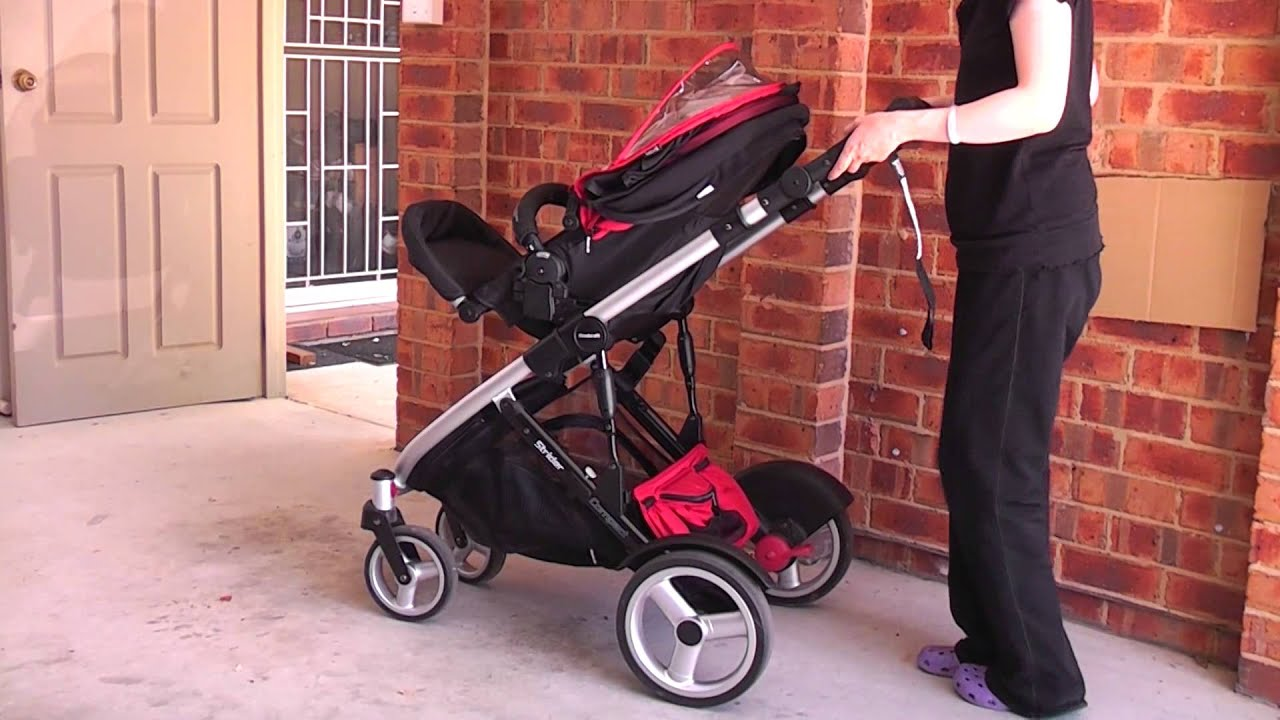Steelcraft Strider Compact Stroller How To Fold Stroller