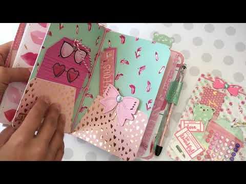 Craft Smith Ooh La La B6 Travlers Notebook
