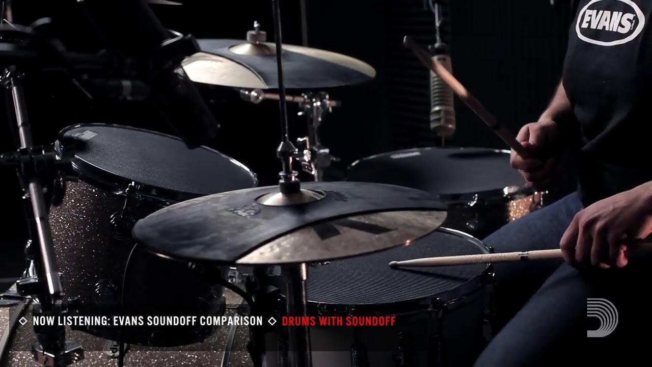 Evans SOSETFSN Drum's Sound off / SoundOff / Mute Box Set for Acoustics Drum - Fusion | Cornerstone Music