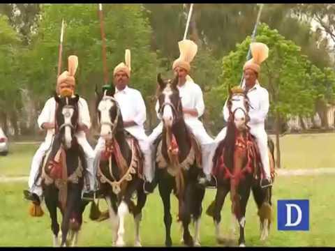 اسلام آباد میں نیزہ بازی کے خوبصورت مقابلے