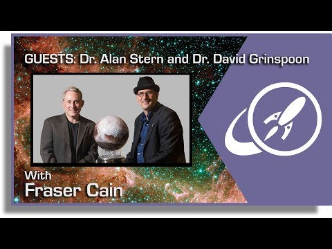 Open Space: May 14, 2018 - Guests Dr. Alan Stern and Dr. David Grinspoon and Chasing New Horizons