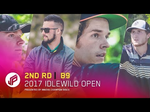 2017 Idlewild Open | Round 2, Back 9 | Perkins, Gibson, Dickerson, Presnell