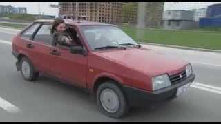 Дорожный патруль-7 (8 серия) car chase scene