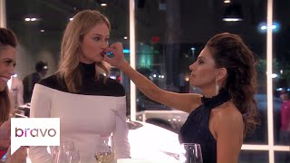RHOC: Peggy Physically Shuts Meghan's Mouth (Season 12, Episode 5) | Bravo