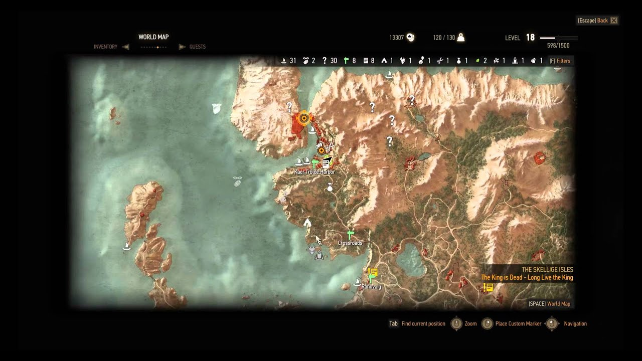 Enhanced cat manuscript location the witcher 3 youtube sciox Image collections