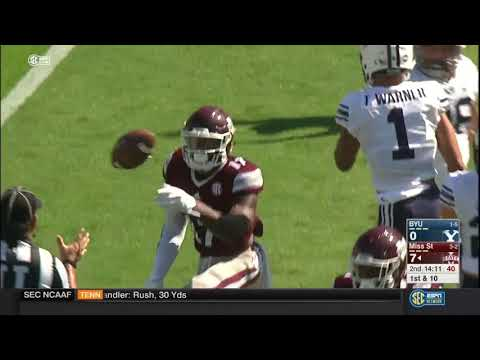 Mississippi State vs BYU College Football Abridged