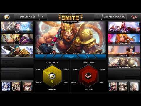 SWC NA Qualifiers Week 3 Finals - Cognitive Gaming vs. Team Dignitas